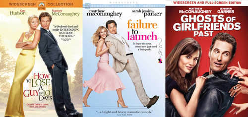 Matthew McConaughey Has Balance Problems