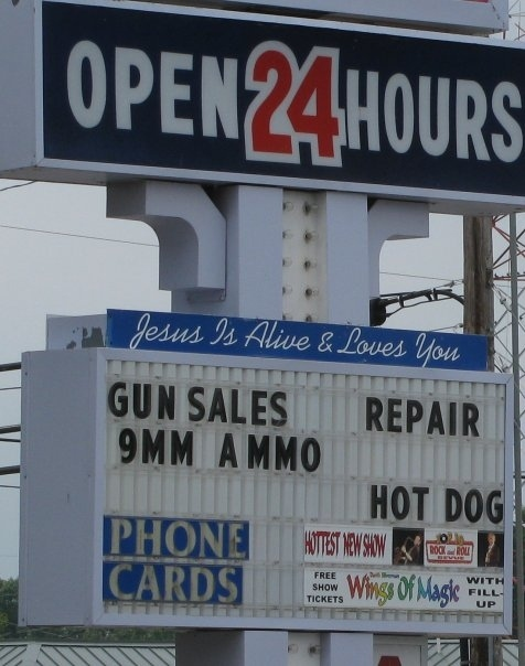 Jesus Loves You (And Your Firearms)