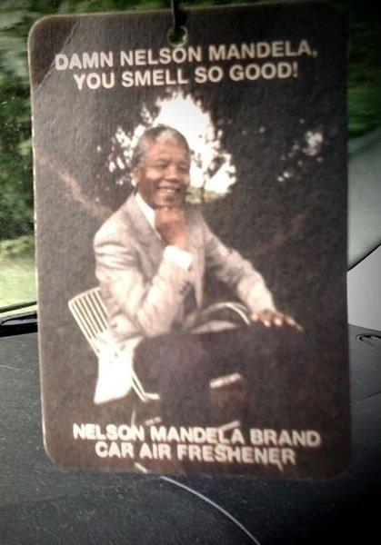 Nelson Mandela Air Freshener