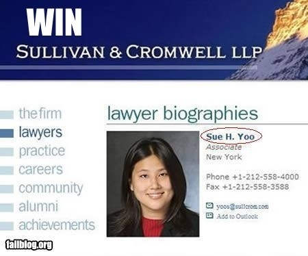 Lawyer Name Win