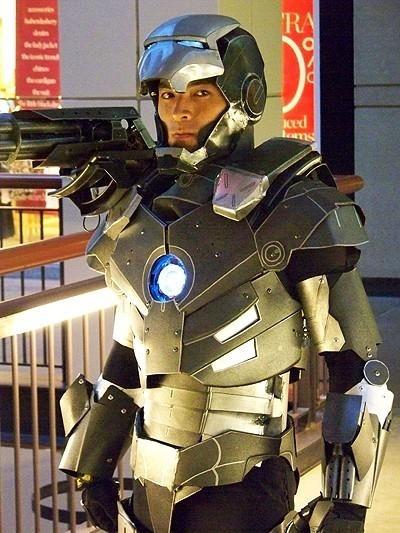Homemade Iron Man Suit
