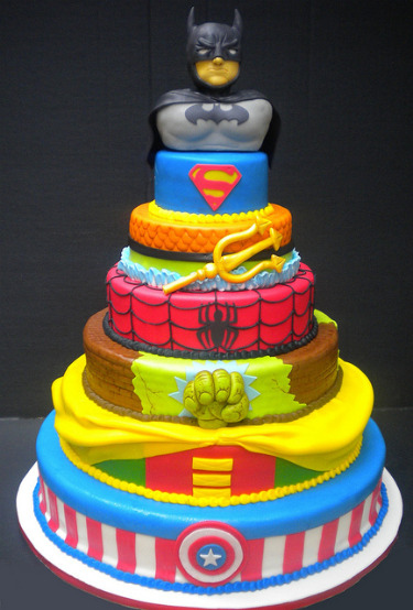 Action Figures Cake
