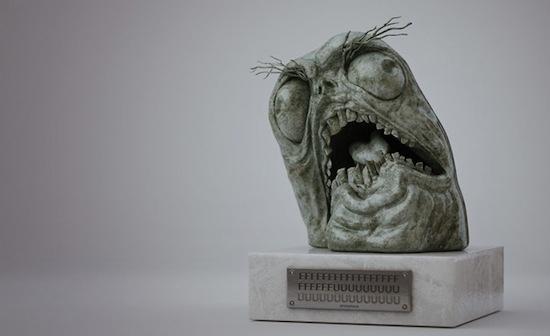 FFFUUUUUUU Statue