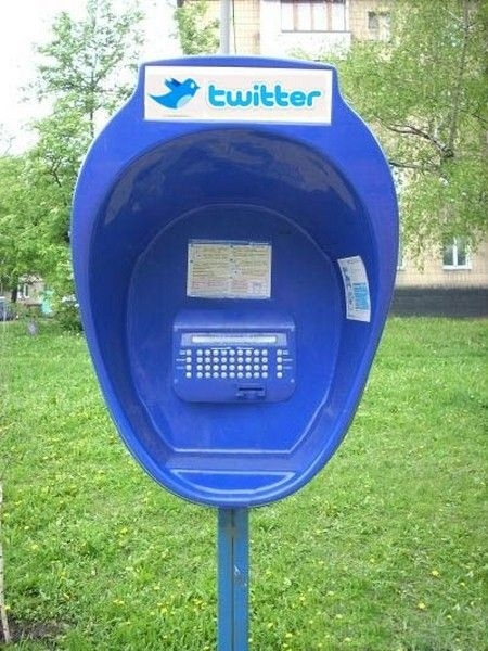 Public Twitter Booth