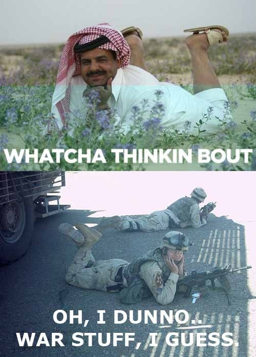Whatcha Thinkin' Bout?