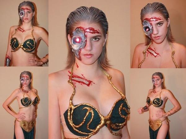 Slave Leia Terminator Halloween Costume