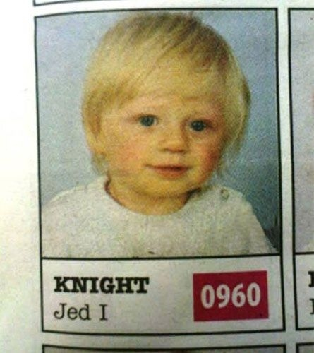 What Does a Star Wars Fan Name His Child?