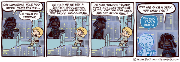 The Truth About Darth Vader
