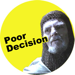 What the Poor Decision Badge Should Look Like