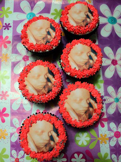Fetus Cupcakes