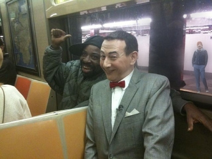 Pee-Wee Herman Makes a New Friend