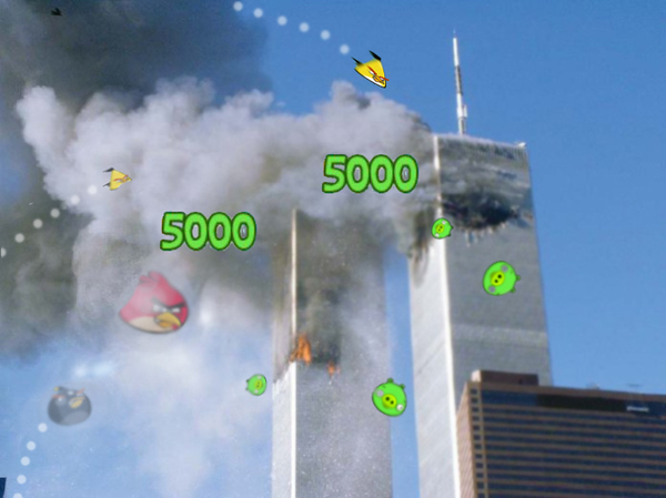 Angry Birds 9/11