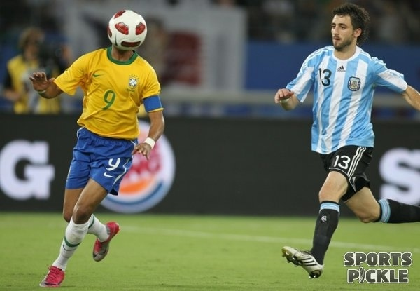 Ball Faced Man Runs For His Life