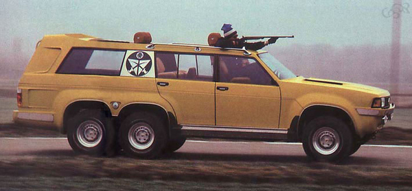 The King of Arabia's Bad-Ass Hunting Truck