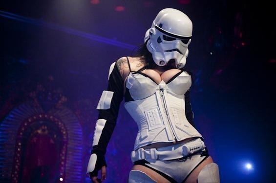 The Hottest Stormtrooper in the Galaxy (PIC)