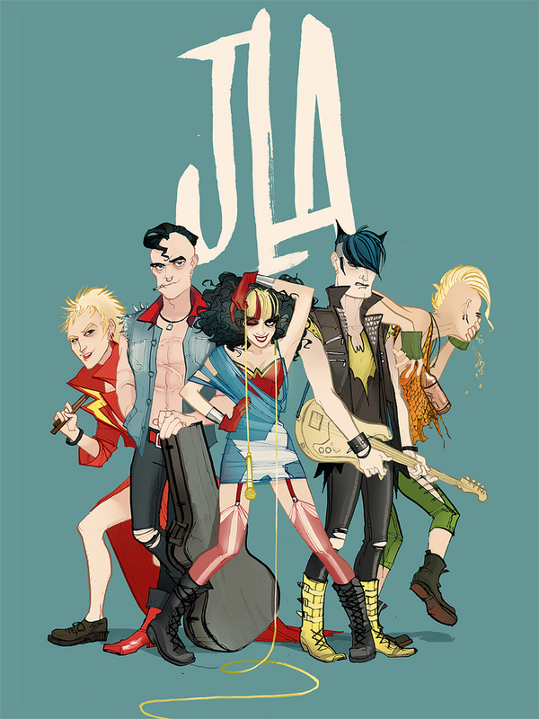 The Punk Justice League