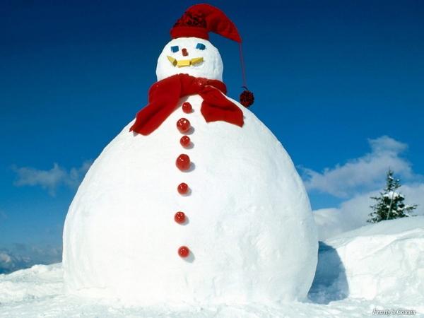 Snowman Or Fatman?