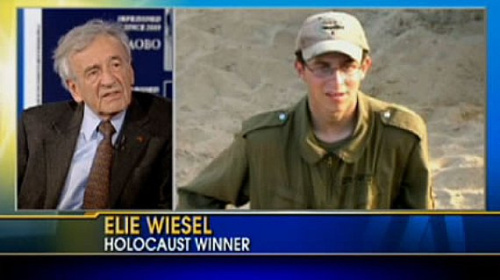 Elie Wiesel Wins The Holocaust.