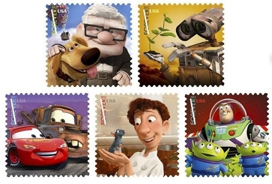 Pixar's Special Edition Stamps