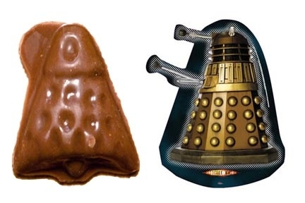 Advent Calendar Chocolate Dalek