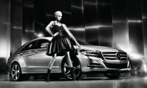 Karolina Kurkova for Mercedes-Benz CLS Coupe