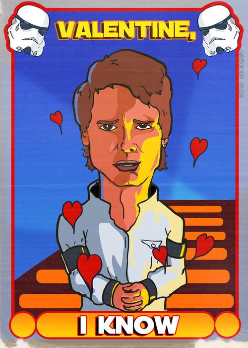 Han Solo Valentine