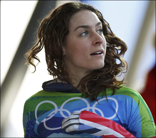 Amy Williams, Britain's Skeleton Gold Medalist