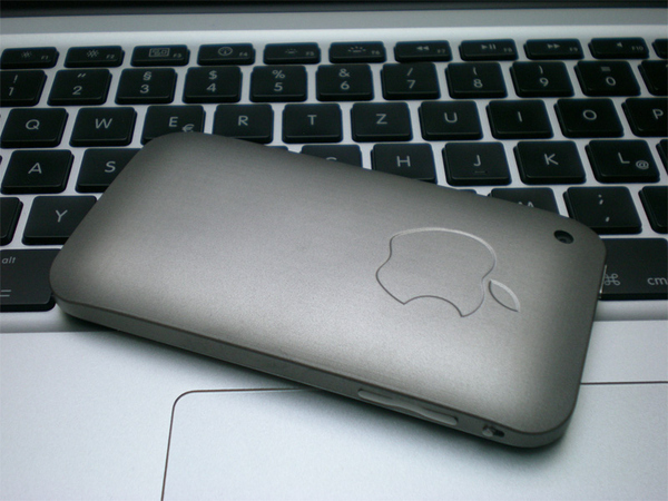 Real Titanium iPhone 3GS