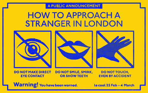 How to Approach a Stranger in London