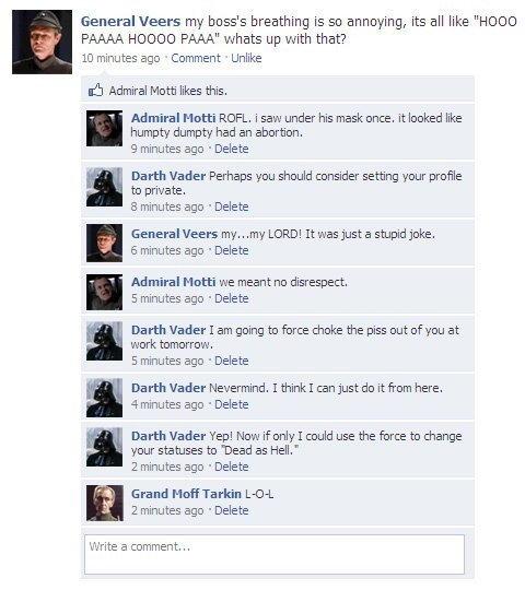 Darth Vader FTW