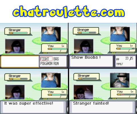 Chatroulette = Pokemon 2.0
