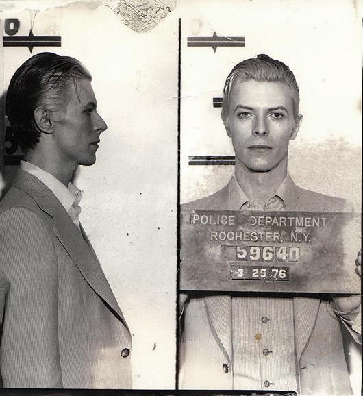 No One Does Mugshots Like David Bowie