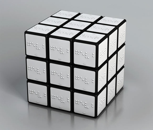 Braille Rubiks Cube