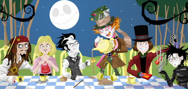The Depp Hatter's Party