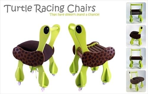 Turtle Racing Chairs