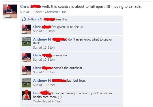 Facebook Logic Fail