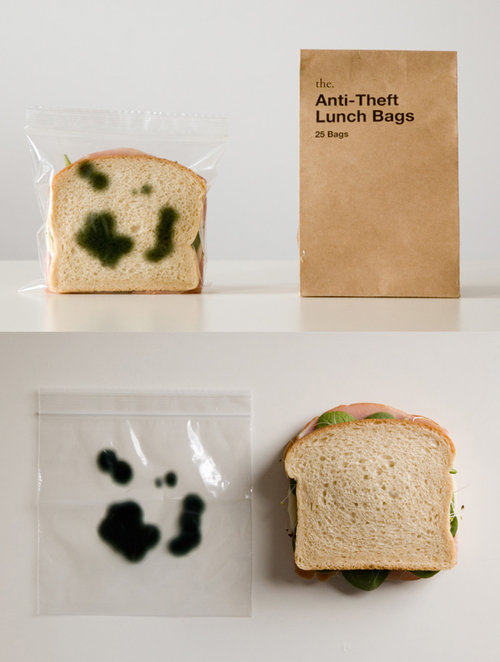 The Anti-Theft Lunch Bags