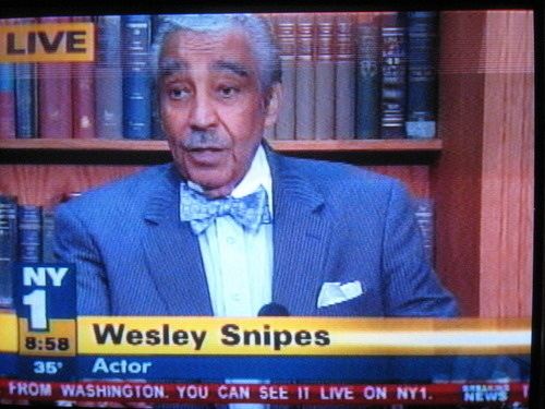 Wesley Snipes Has Seen Better Days