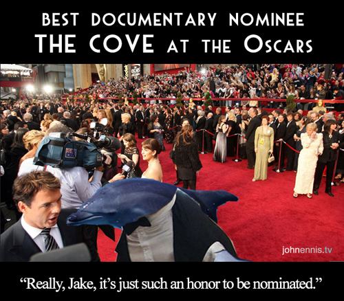 "Best Doc Nominee ""THE COVE"" Dazzles On the Oscars Red Carpet!"