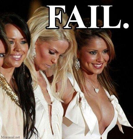 Small Boob Fail