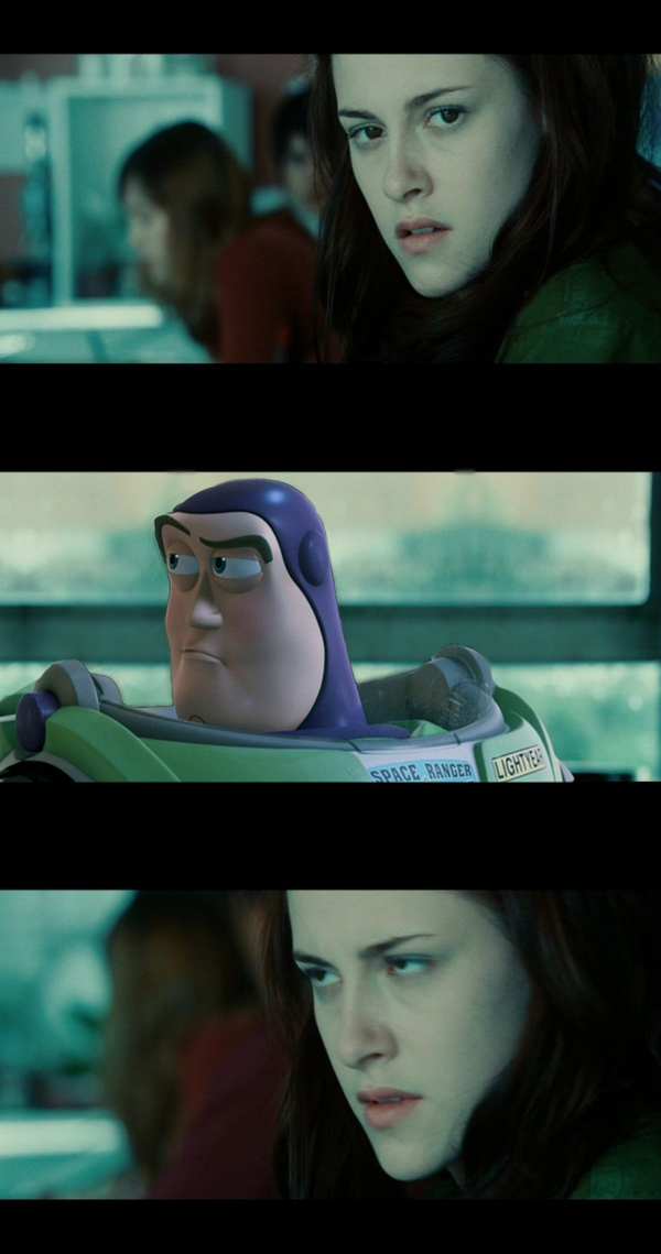 What If Buzz Lightyear Was In 'Twilight'?
