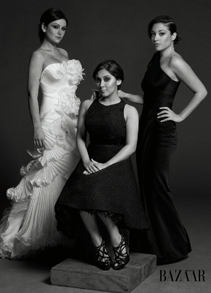 The Ladies of 'Jersey Shore' in 'Harper's Bazaar'