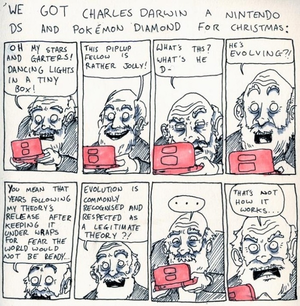 Darwin Plays Pokemon