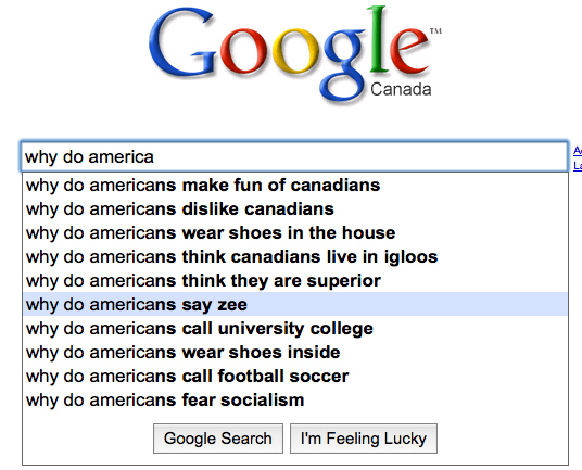 What Canadians Want to Know About Americans