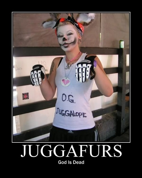 When A Furry Marries A Juggalo