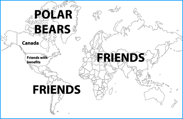 How Canada Sees the Rest of the World