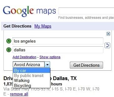 Avoid Arizona