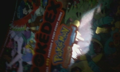 NEW POKEDEX BOOK
