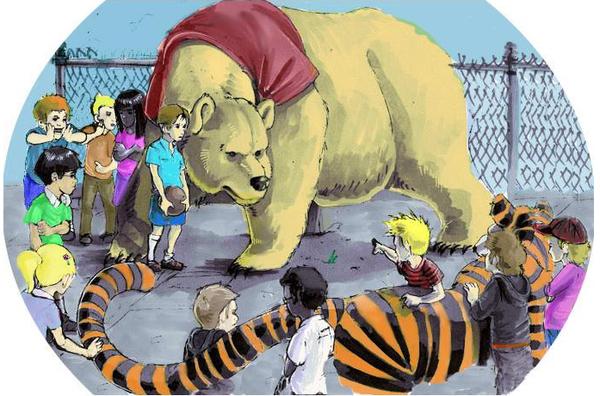 Pooh Vs. Hobbes