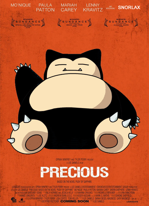 Snorlax, You're Not A Movie Star...